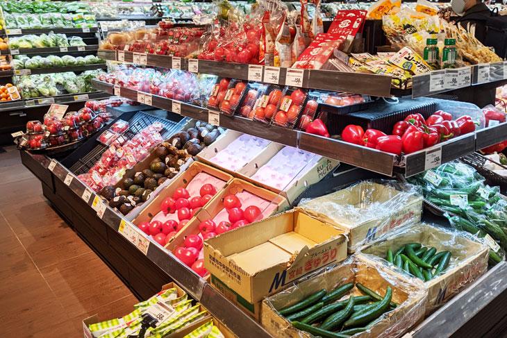 イオンの野菜売場