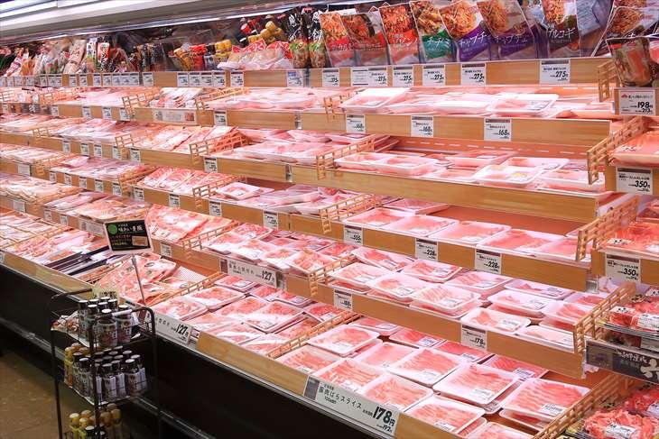 イオン等のスーパーの畜産売場・お肉売場と仕事内容